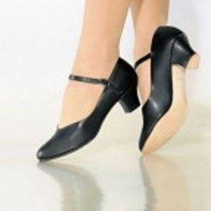 "SoDanca CH50 Black 1.5"" Heel"