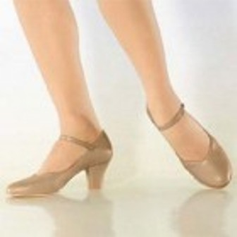 "SoDanca CH52 Tan 2"" heel"