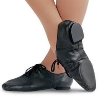 Split Sole Shoe (Black)