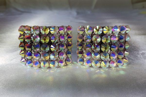 Ab crystal buckles