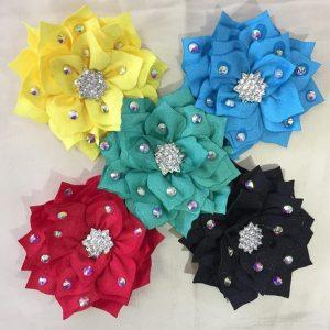 Flower clip ( 6 colours )